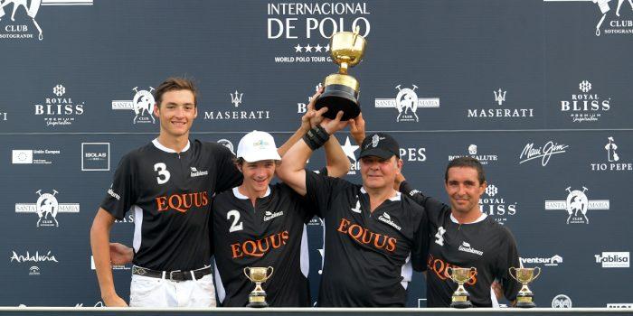 Equus ganador de la Copa de Oro Aerolíneas Argentinas