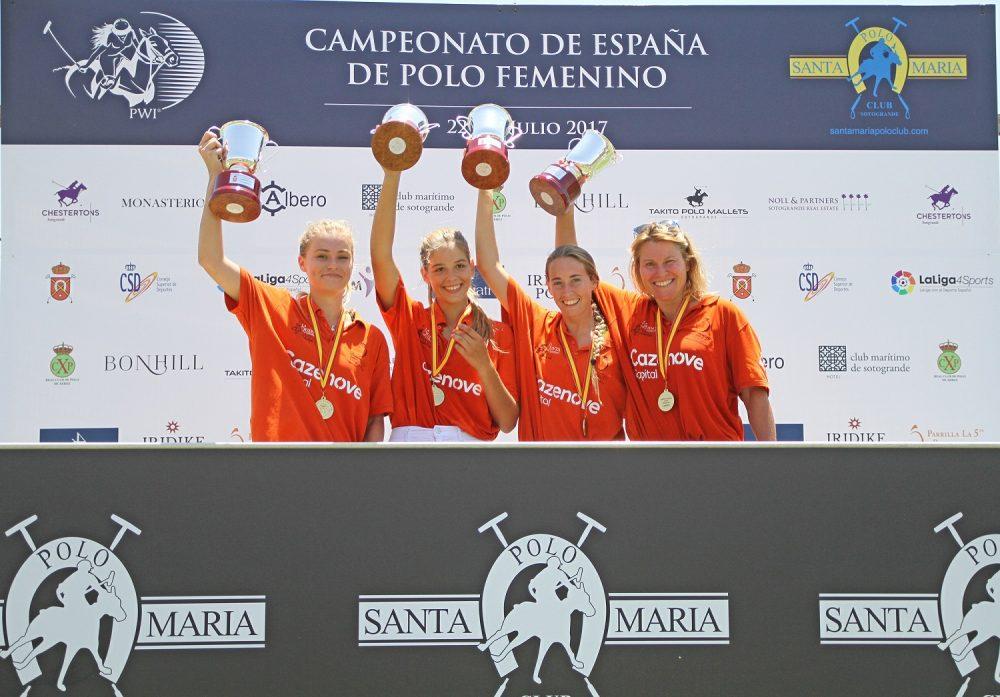 2017-07-23 La Quinta campeón (Campeonato de España de Polo Femenino)