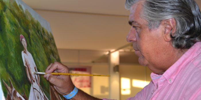 2017-08-11 Carlos Barbiere pintor Santa María Polo Club