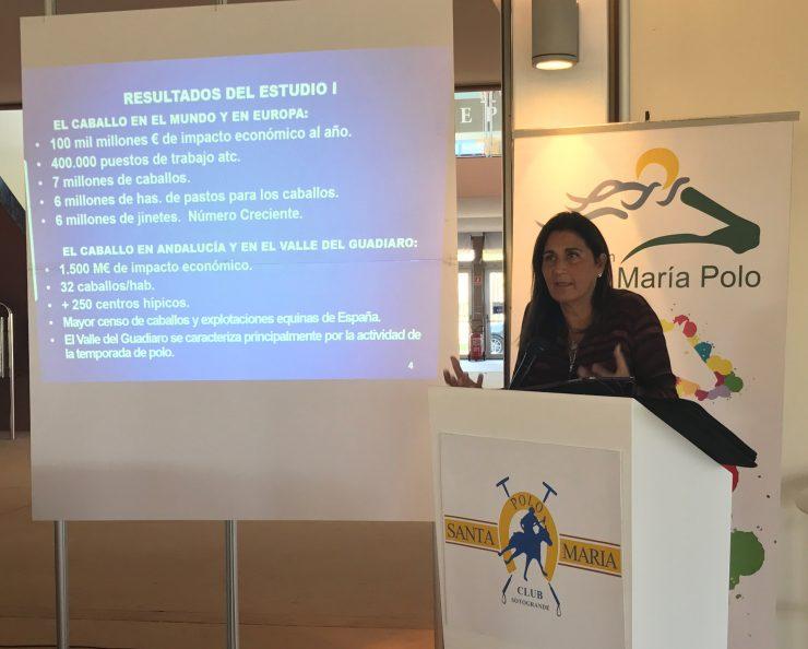 2017-11-30 Jornada Distrito Equino (Fundación Santa María Polo) Isabel Álvarez