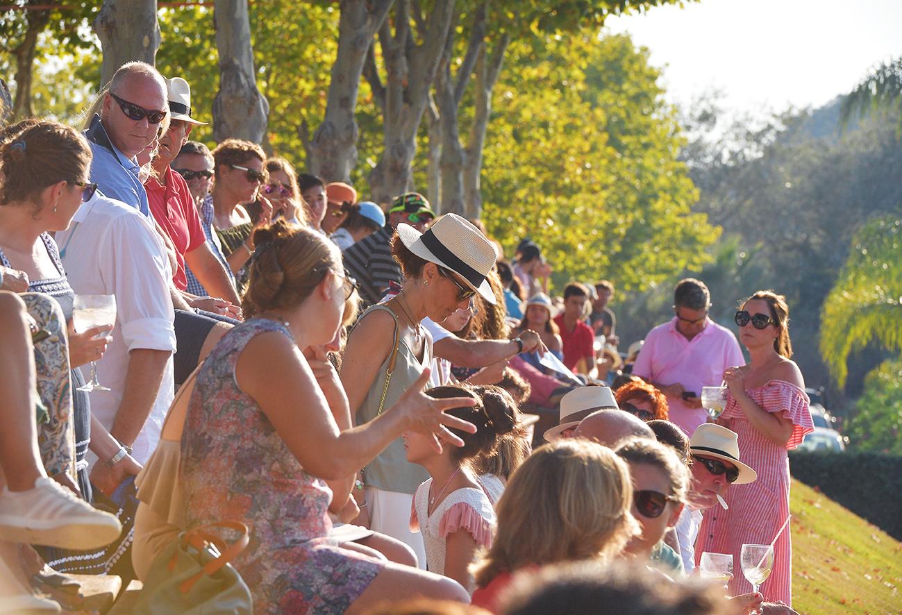 Público partido de polo Santa Maria Polo Club Sotogrande